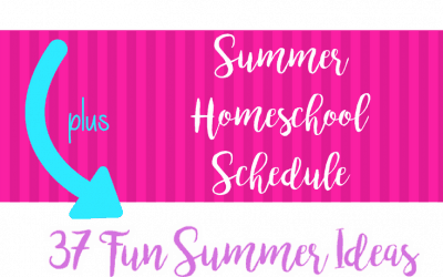 3 Easy Steps to Organize Your Summer Homeschool Schedule