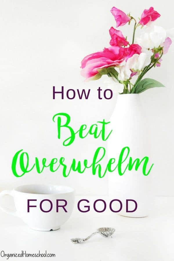 You don't need to read any time management books to be more productive. Learn how to beat overwhelm in this post.