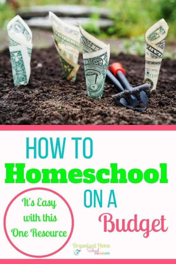 Homeschool on a budget with this one resource that helps homeschool families plan and organize their homeschools while saving money at the same time.