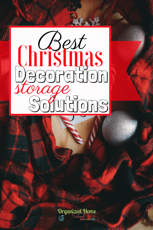 While putting up those Christmas decorations and being able to appreciate them for a while is quite enjoyable, the season does eventually come to an end.  And when the season ends, so do the decorations. What would make taking down all of your Christmas decorations just as fun and doable as putting them up? Here are my Best Christmas Decoration Storage Solutions!
