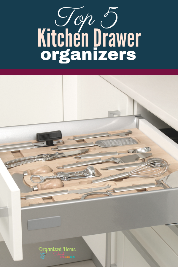 What if I told you that all of your day long deep cleaning days that occur approximately once a month could be put to an end, and your kitchen still look as clean as can be?  Well, it can!  The solution is quite simple actually...all you need is some high quality yet simple kitchen drawer organizers for some of your messiest drawers and spaces.  You can find a great selection of those very kitchen drawer organizers today, as a matter of fact! Because I'm about to help you solve one of your messiest kitchen mishaps with the Top 5 Best Kitchen Drawer Organizers!