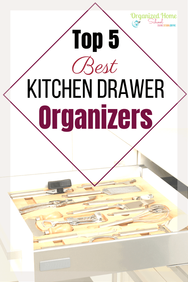 Why keep your drawers messy and chaotic if you can fix it with the simple installation of a new kitchen drawer organizer? Not only will your drawers be a lot more pleasant to open, but everything that's been laying around your kitchen counters will finally have a home as well. So, what are you waiting for? One of these kitchen drawer organizers could be your ticket to a more organized life!