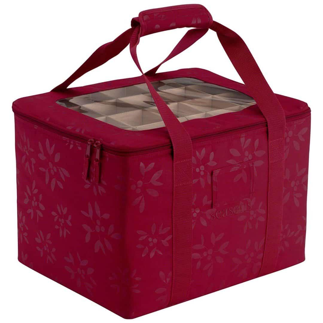 classic accessories seasons christmas tree ornament organizer storage bag