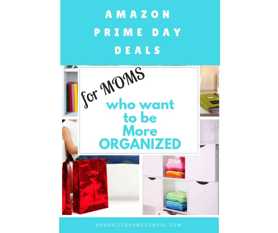 amazon prime day deals for moms who want to be more organized