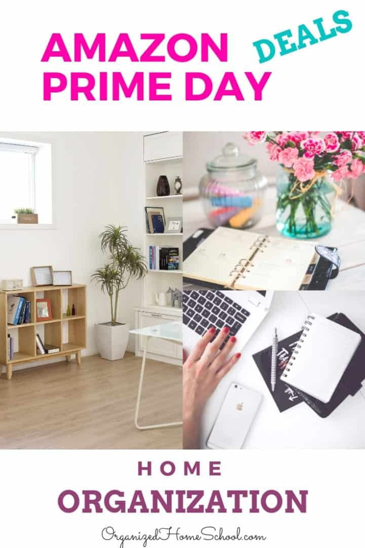 amazon prime day deals on home organization