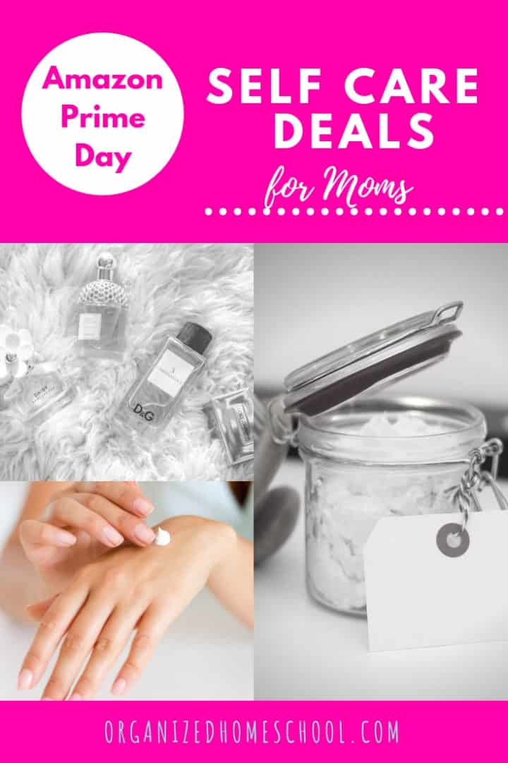 amazon prime day deals self care for mom