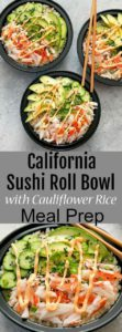 California Sushi Roll the Easy Way