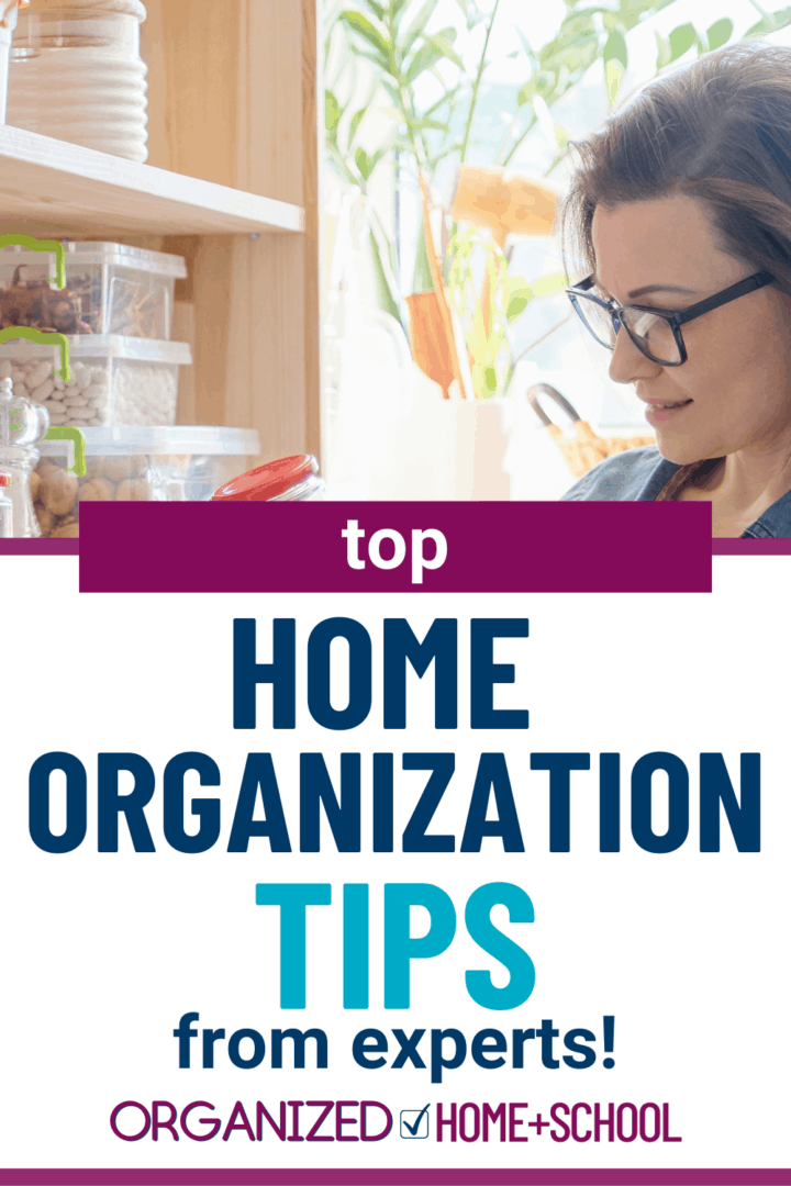 Organizing Ideas for Your Whole House
