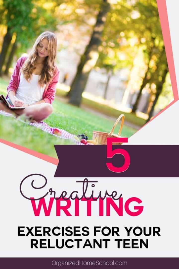 5 creative exercises to get your high school teen writing