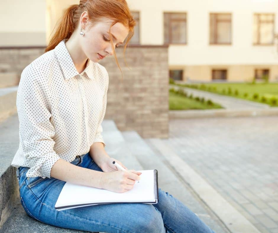 creative writing exercises for teens