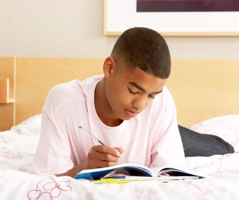 recreate a movie scene creative writing for teens