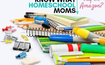 Want to Know What Homeschool Moms are Buying on Amazon?