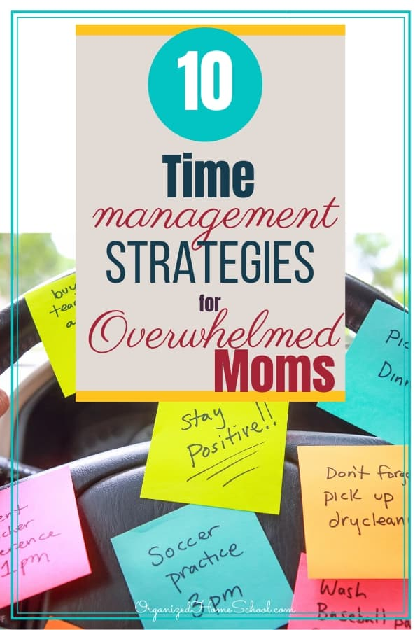 time management overwhelmed mom