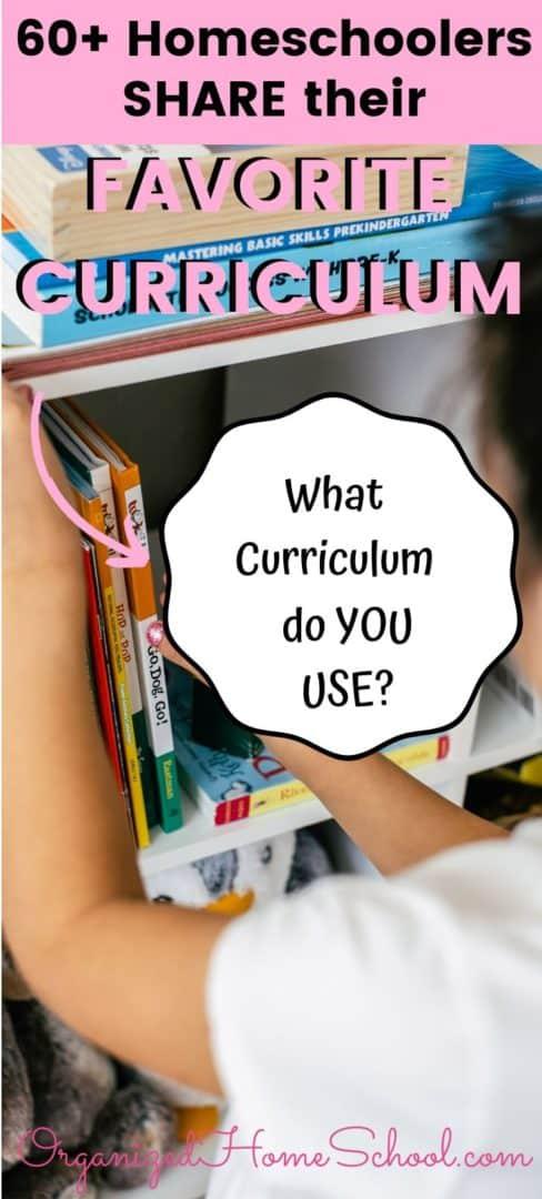 60 homeschoolers share favorite curriculum