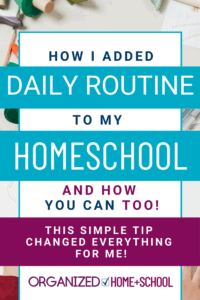 Want to establish your homeschool's daily schedule so that homeschooling will be easier? Follow these four easy steps recommend by an experienced homeschool mom.