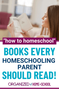 """Wondering which """"How To Homeschool"""" books are worth reading? Don't know where to start? Start with these suggestions."""