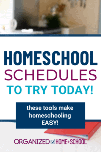 Don't start your planning until you read these tips about homeschool scheduling. They'll give you the right mindset to schedule right.