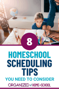 homeschool schedule ideas
