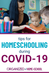 With schools closed  due to the COVID-19 pandemic, parents find themselves facing the managing at-home education. Learn how to do this from an experienced homeschool mom.