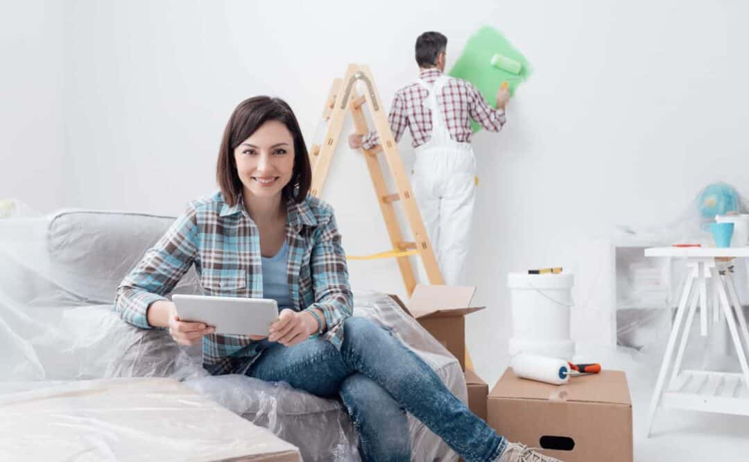 stay organized while home renovations