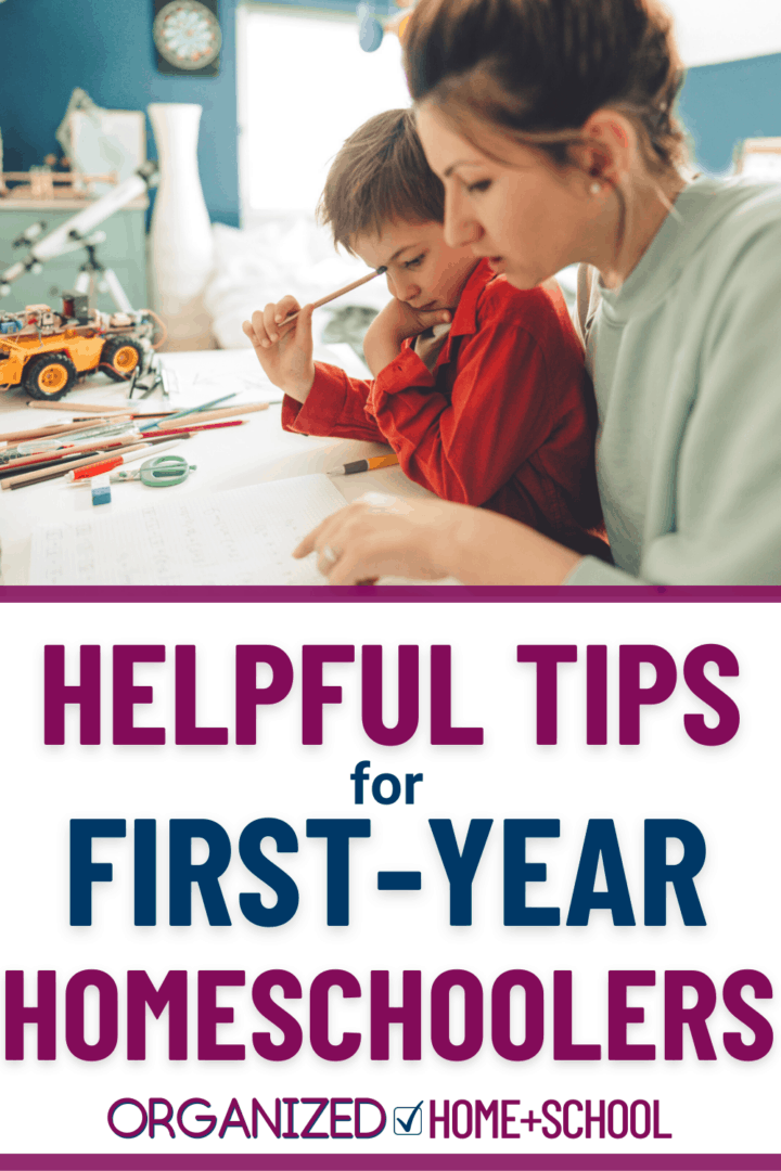 Your first year of homeschooling may seem overwhelming. Read these tips for homeschoolers to help you navigate the beginning of your family's journey.