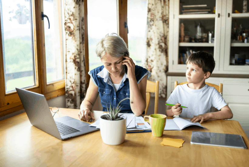 Homeschooling when you work full time can seem nearly impossible, but it's actually quite doable. In fact, thousands of families, are doing it everyday. Read to learn how.